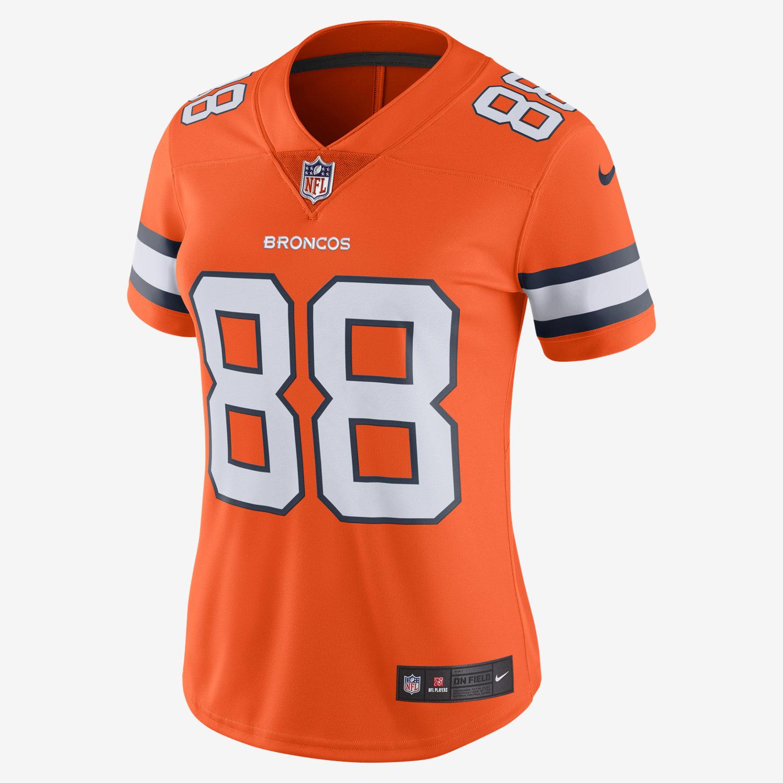 NFL Denver Broncos Color Rush Limited Demaryius Thomas Women s