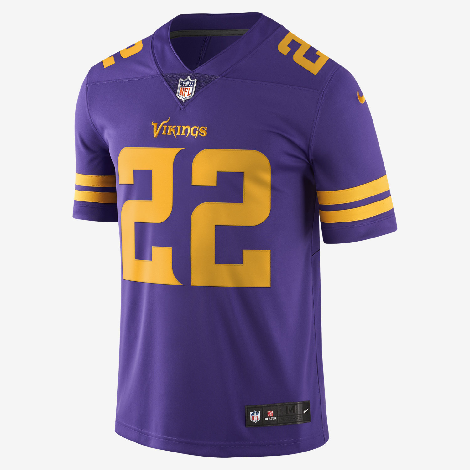 nfl minnesota vikings color rush limited harrison smith mens football jersey. nike.