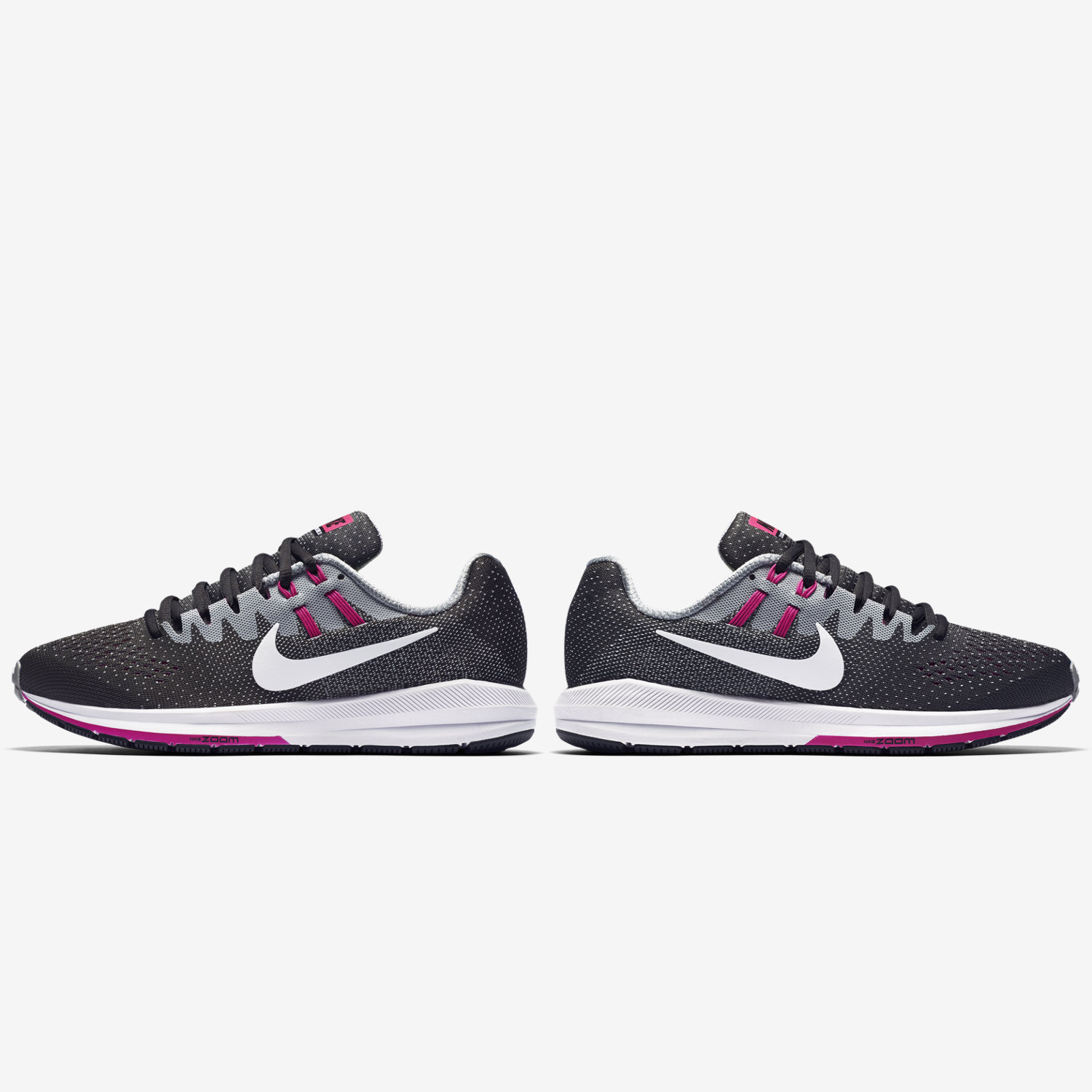 Nike Men's Air Zoom Pegasus 33 Black/White/Anthracite/Cl Grey
