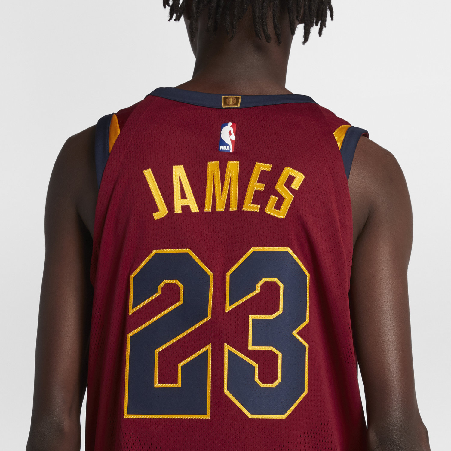 61e37b0b7 LeBron James Icon Edition Authentic (Cleveland Cavaliers) Men u0027s Nike  NBA Connected Jersey