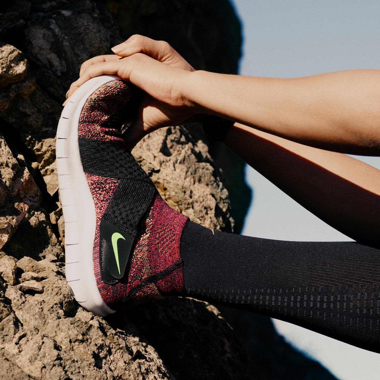 c53376056985 ... Mens Shoes Black Nike Free RN Motion Flyknit 2017 Womens Running Shoe.