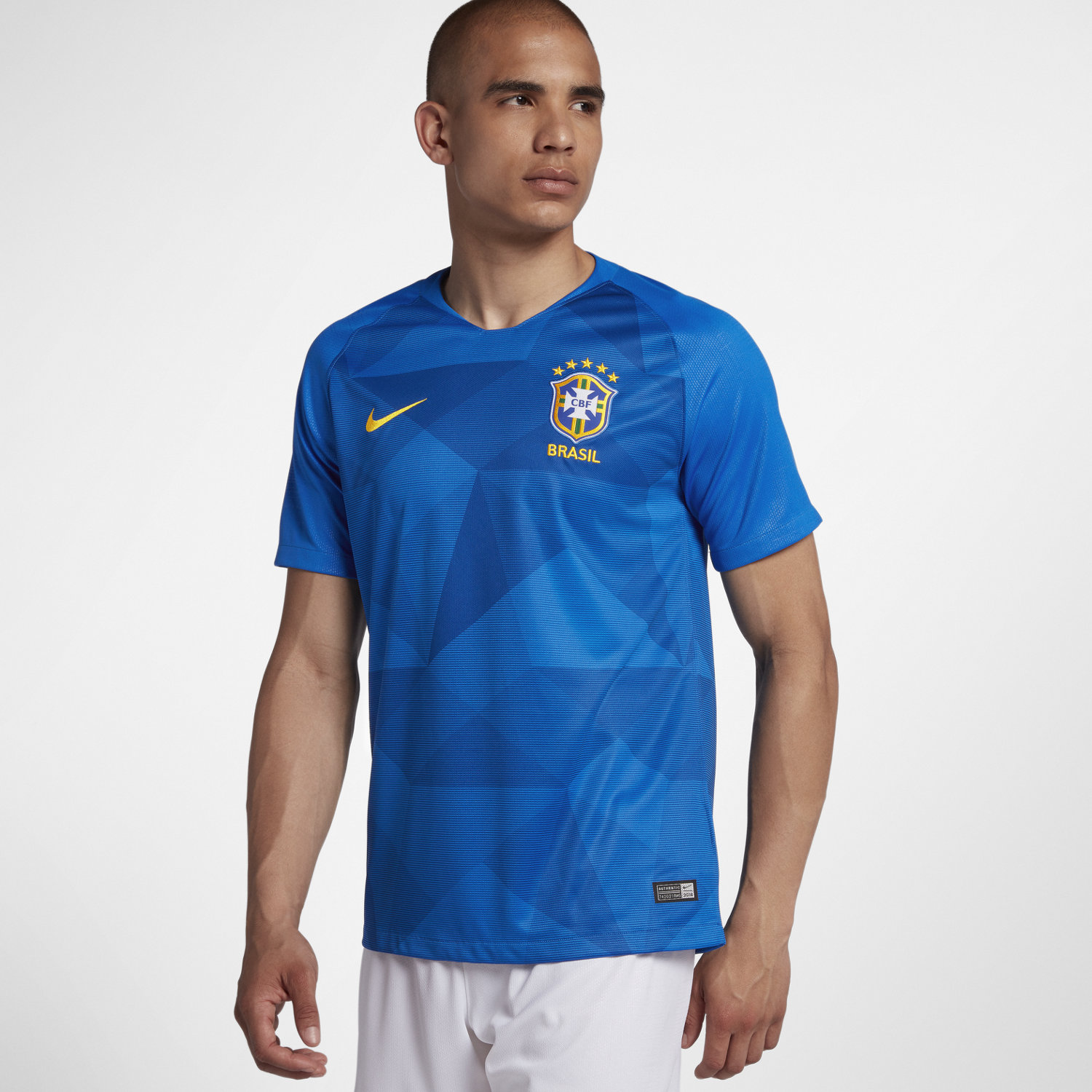 85a32bb878 2018 Brazil CBF Stadium Away Men s Football Shirt. Nike.com UK