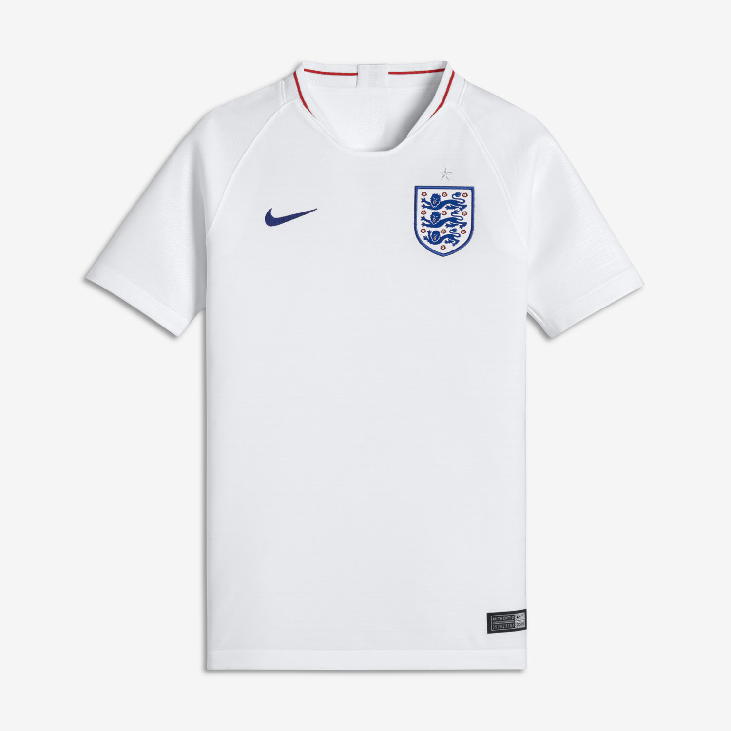 2018 England Stadium Home Older Kids  Football Shirt. Nike.com UK 9547f1ab02c0