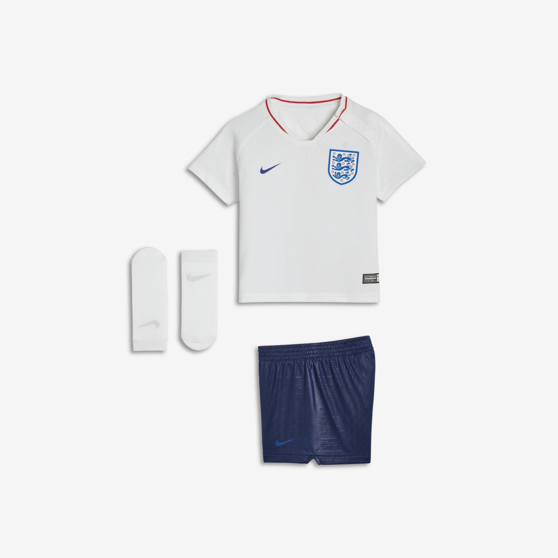 low priced e0de7 47d3c 2018 England Stadium Home Baby & Toddler Football Kit