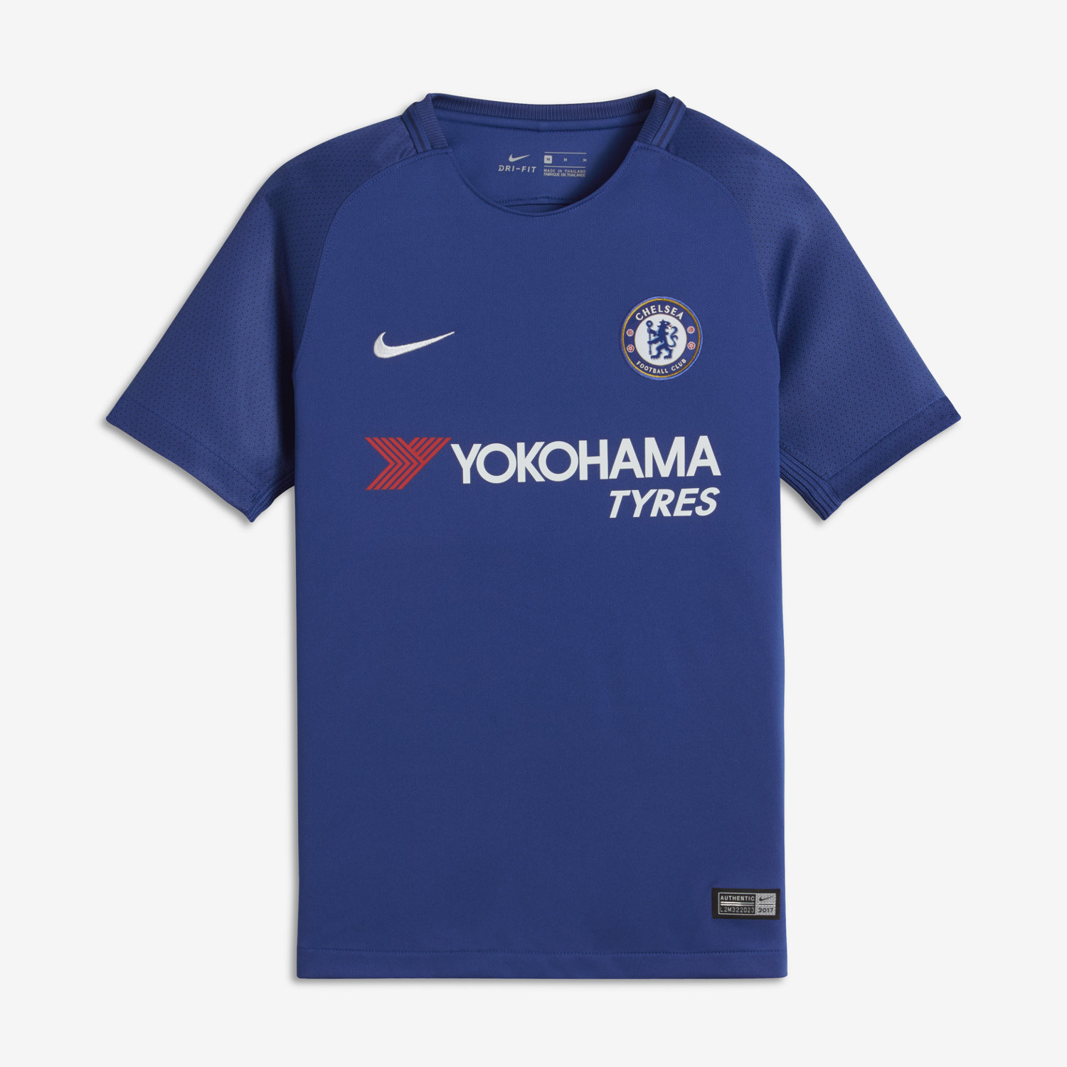 2017/18 chelsea fc stadium home big kids' soccer jersey. nike