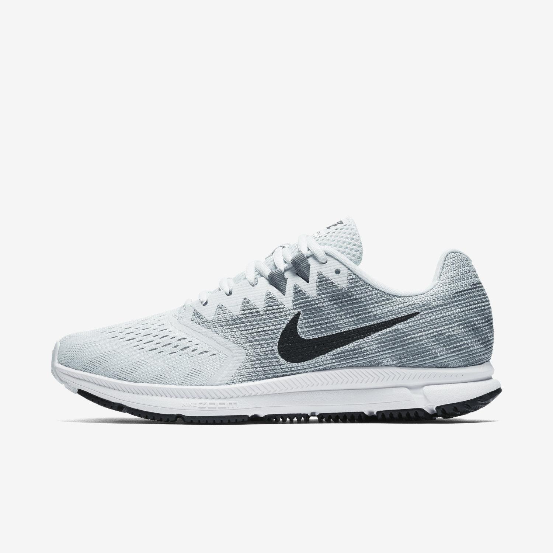 ef7353ef5ba1 Nike Zoom Span Air Grey Orange Men Running Shoes Sneakers Trainers 852437  008