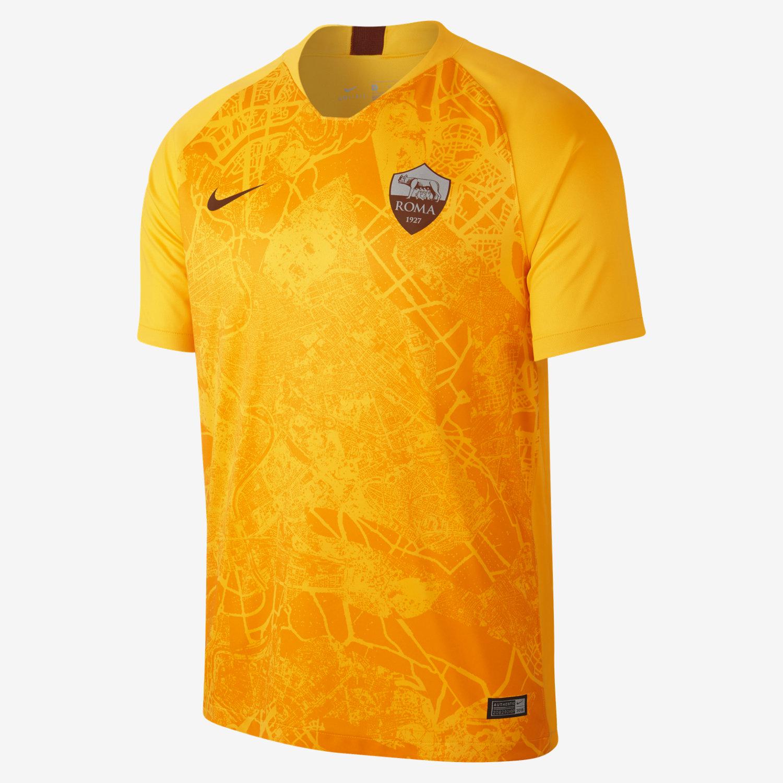 Camisola de futebol 2018 19 A.S. Roma Stadium Third para homem. Nike.com PT 65febbb2bd49a