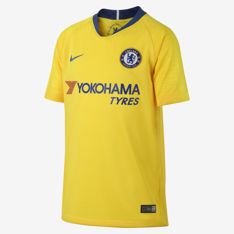 2018 19 Chelsea FC Stadium Away Camiseta de fútbol - Niño a. Nike.com ES e7a874dedb7