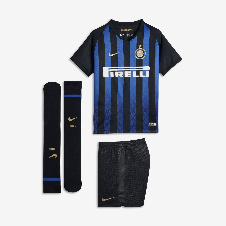 Divisa da calcio 2018 19 Inter Stadium Home - Bambini. Nike.com IT 3121036f345