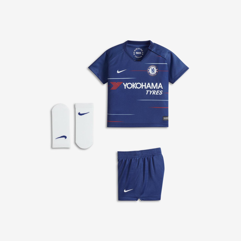 a591d3097 2018/19 Chelsea FC Stadium Home Baby & Toddler Football Kit. Nike.com LU