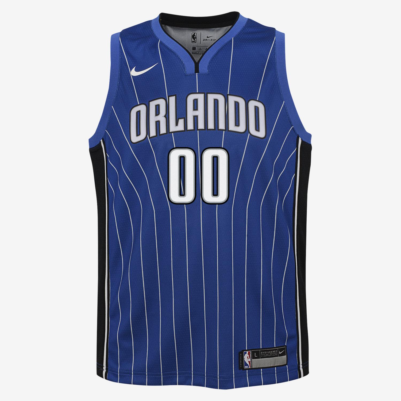 ce4ff43abdc ... adidas Royal Replica Jersey Aaron Gordon Orlando Magic Nike Icon  Edition Swingman Big Kids NBA Jersey.
