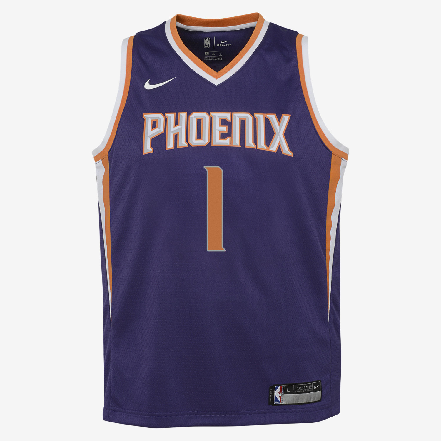 coupon code for devin booker phoenix suns nike icon edition swingman big  kids nba jersey . 962723103