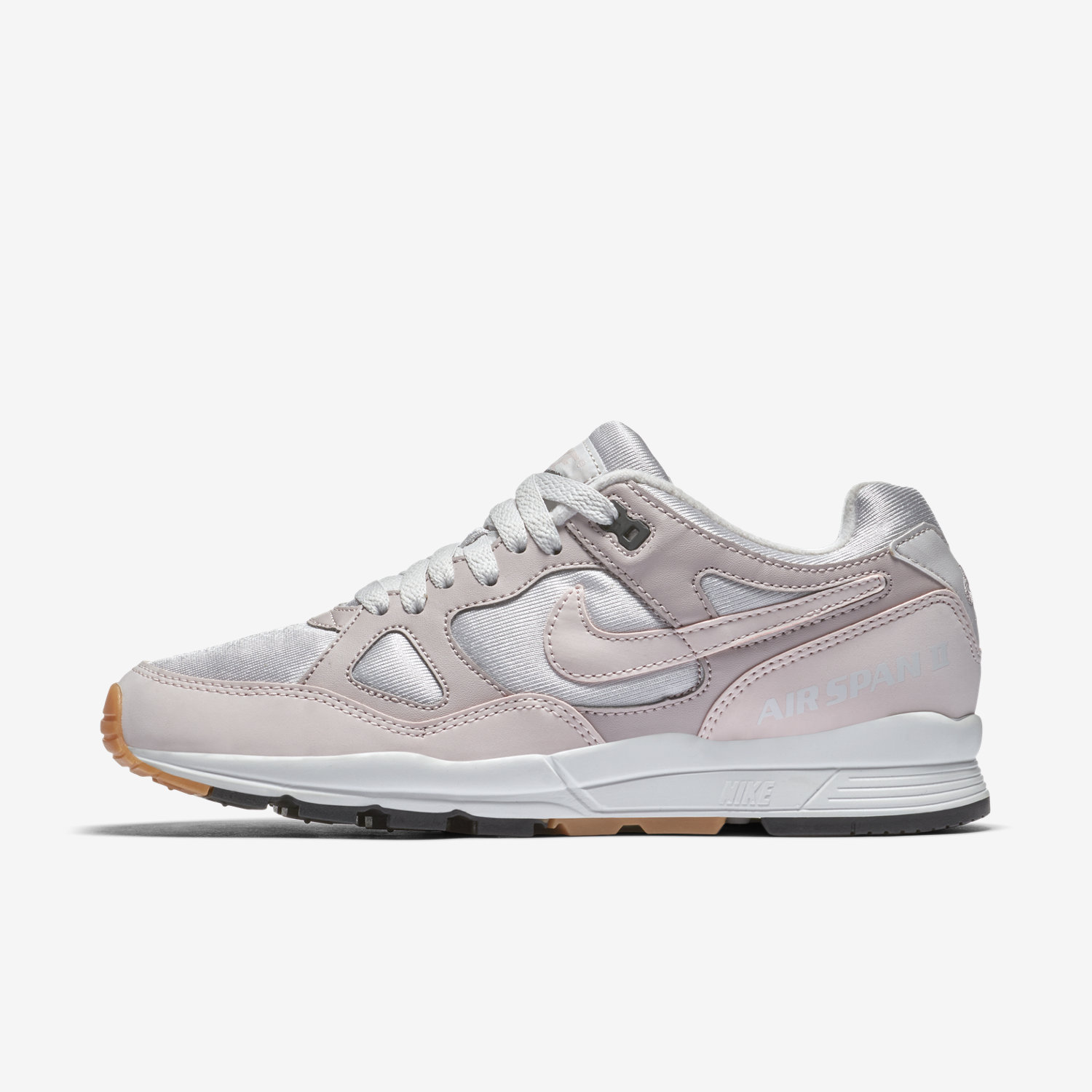 Nike Sportswear AIR SPAN - Trainers - desert sand/summit white/mica green zlzpyu