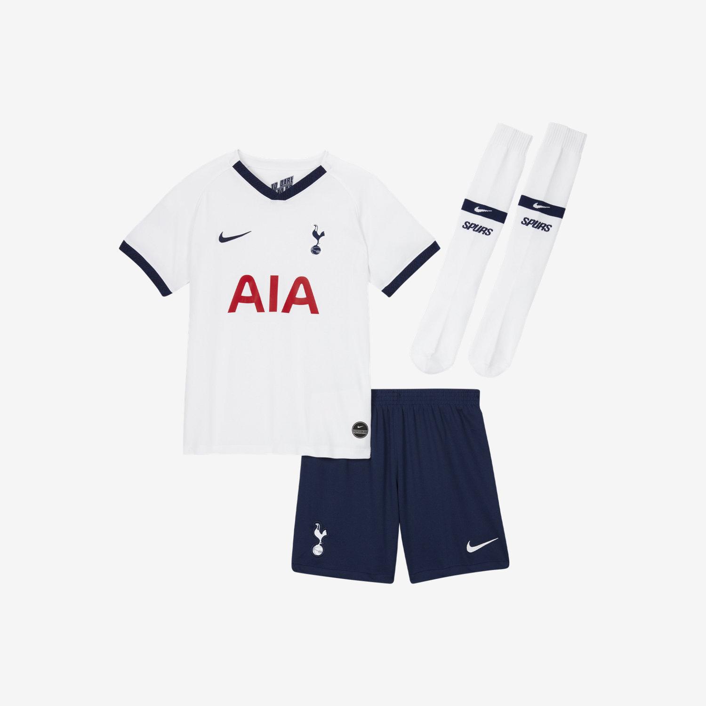 ac7912cf557a33 Strój piłkarski dla małych dzieci Tottenham Hotspur 2019/20 Home. Nike.com  PL
