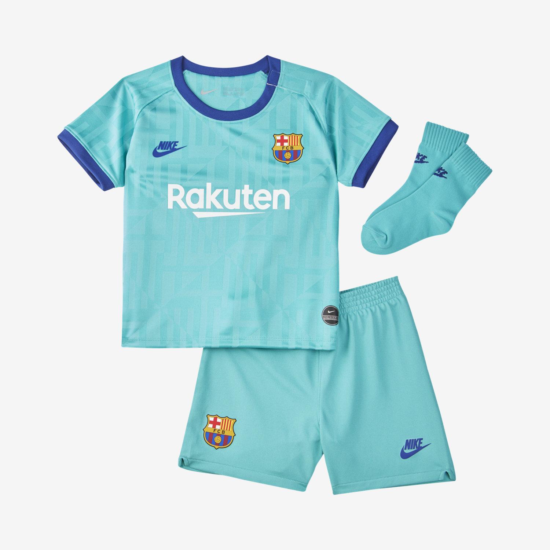 FC Barcelona 201920 Third Fußballtrikot Set für Babys und Kleinkinder