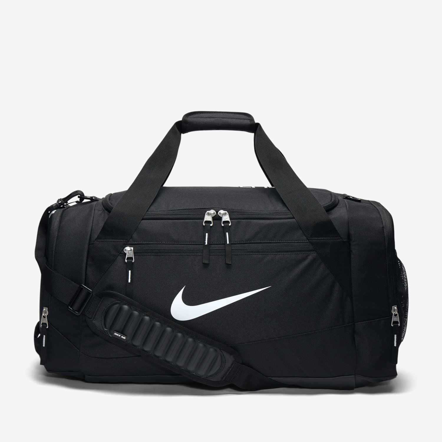 black and white nike bag