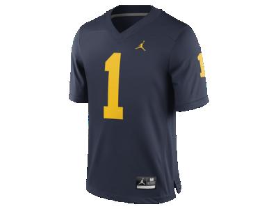 Jordan Football Game (Michigan) Men s Jersey. Nike.com d811d9b42