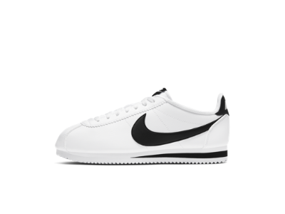 mens nike cortez white and red