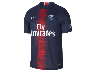a9611fb2 2018/19 Paris Saint-Germain Stadium Home Men's Football Shirt. Nike.com UK