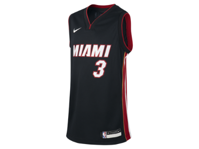 buy popular e64c1 fa43b Dwyane Wade Miami Heat Icon Edition Swingman Older Kids' Nike NBA Jersey