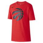 T-Shirt NBA Toronto Raptors Nike Dry για μεγάλα αγόρια