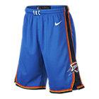 Oklahoma City Thunder Nike Icon Edition Swingman NBA-shorts voor jongens