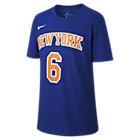 T-Shirt μπάσκετ Nike Icon NBA Knicks (Porzingis) για μεγάλα αγόρια