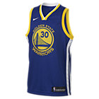 Maglia Stephen Curry Golden State Warriors Nike Icon Edition Swingman NBA - Ragazzi