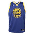 Kevin Durant Golden State Warriors Nike Icon Edition Swingman NBA-Trikot für ältere Kinder