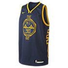 Φανέλα Nike NBA Stephen Curry City Edition Swingman (Golden State Warriors) για μεγάλα παιδιά