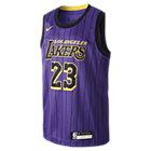 Maillot Nike NBA LeBron James City Edition Swingman (Los Angeles Lakers) pour Enfant plus âgé