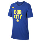 Golden State Warriors Nike Dri-FIT NBA-T-Shirt für Jungen