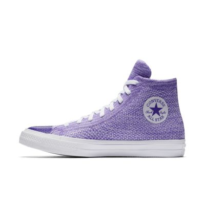 converse all star shoes purple. converse chuck taylor all star x nike flyknit high top unisex shoe. nike.com shoes purple s