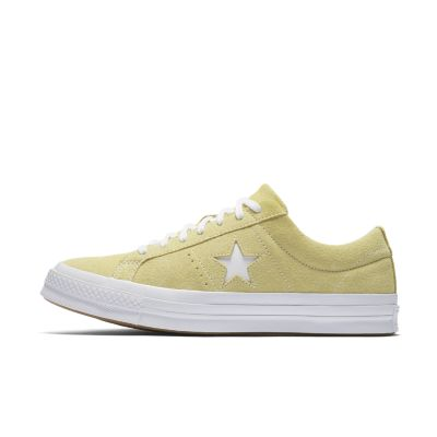 converse one star yellow suede