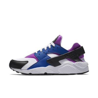 nike air huarache men blue