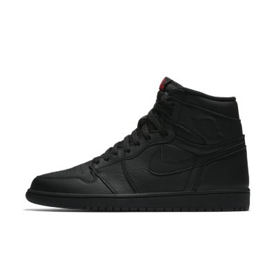 air jordan 1 retro black shoes