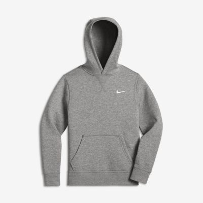 Nike YA76 Brushed Fleece Pullover (8y-15y) Older Boys' Hoodie ...