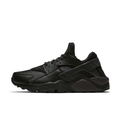 nike air huarache black white