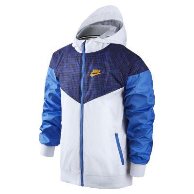 nike zip up jacket kids gold