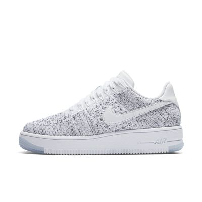 nike air force 1 flyknit gris