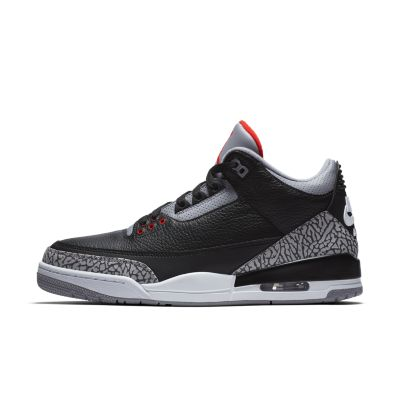 air jordan 3 retro black/grey womens plus size stores near me