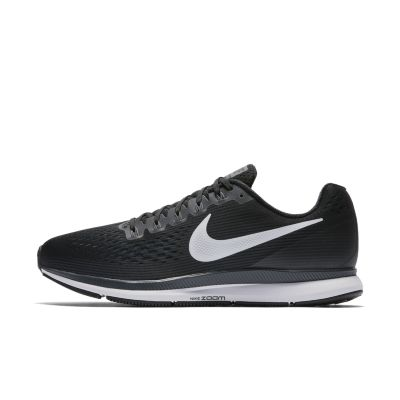 nike air zoom pegasus black and white