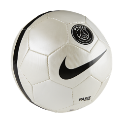 Футбольный мяч Paris Saint-Germain SkillsФутбольный мяч Paris Saint-Germain Skills из материала TPU с машинной строчкой обеспечивает отличное касание и прочность для тренинга любой интенсивности.<br>