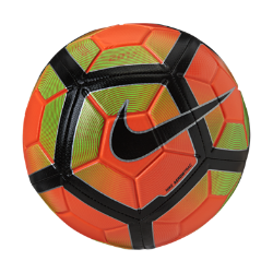 Футбольный мяч Nike StrikeФутбольный мяч Nike Strike с усиленной резиновой камерой и яркой контрастной графикой обеспечивает улучшенный контроль и хорошо заметен на поле.<br>