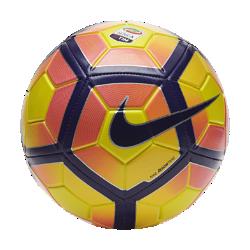 Футбольный мяч Nike Strike Serie AФутбольный мяч Nike Strike Serie A обеспечивает превосходное касание и хорошо заметен на поле.<br>