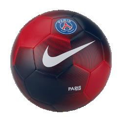 Футбольный мяч Paris Saint-Germain PrestigeФутбольный мяч Paris Saint-Germain Prestige с графикой в стиле команды отлично заметен на поле.<br>