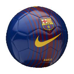 Футбольный мяч FC Barcelona SkillsФутбольный мяч FC Barcelona Skills с прочным покрытием из материала TPU с машинной строчкой обеспечивает великолепное касание для тренинга любой интенсивности.<br>