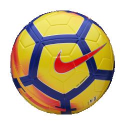 Футбольный мяч Nike Ordem VФутбольный мяч Nike Ordem V имеет микротекстурное покрытие и желобки Nike Aerowtrac для точности траектории полета и полного контроля над мячом.<br>