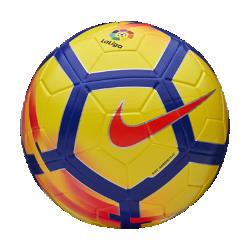 Футбольный мяч Nike Ordem V La LigaФутбольный мяч Nike Ordem V La Liga имеет микротекстурное покрытие и желобки Nike Aerowtrac для точности траектории полета и полного контроля над мячом.<br>
