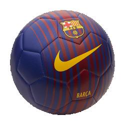 Футбольный мяч FC Barcelona PrestigeФутбольный мяч FC Barcelona Prestige обеспечивает превосходное касание и хорошо заметен на поле.<br>